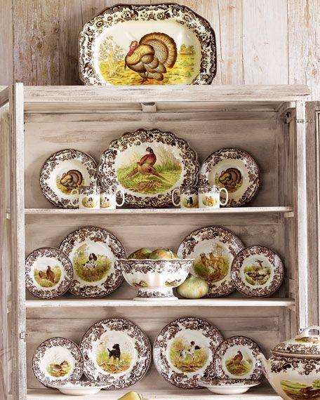 Spode Woodland, New & Retired