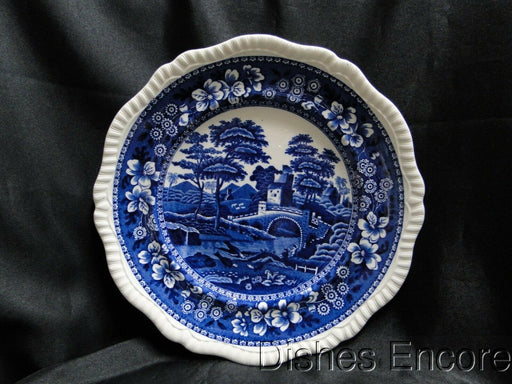 Copeland Spode's Tower Blue: Blue Flowers & Scene: Dinner Plate (s), 10 5/8""