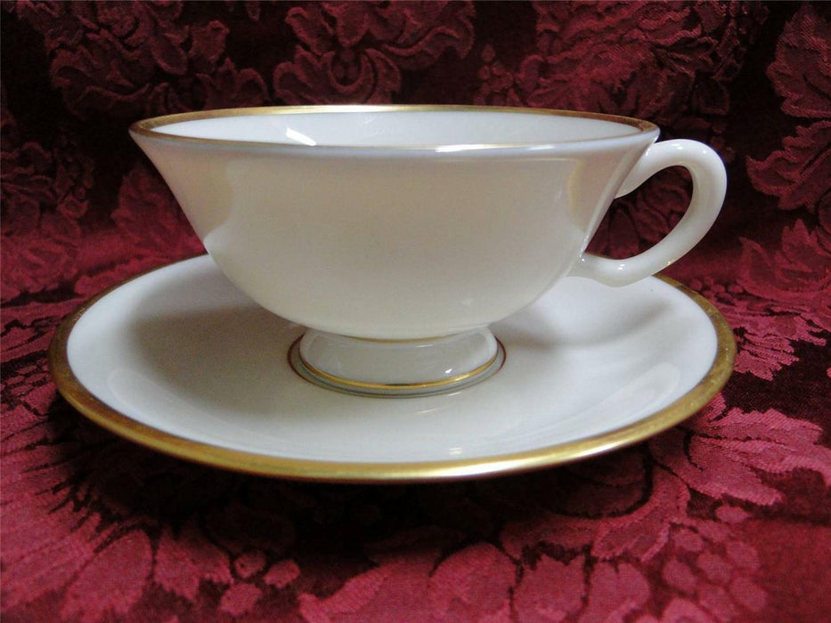 Lenox Mansfield Gold Trim: Cup and Saucer Set (s)