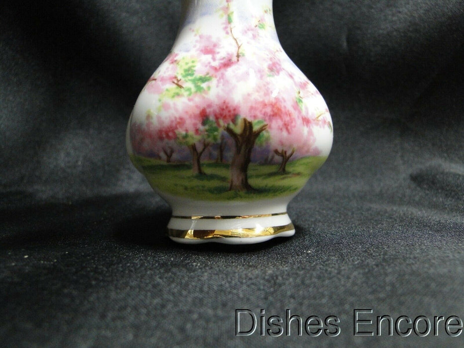 Royal Albert Blossom Time, Pink Flowering Trees: Salt OR Pepper Shaker, 5 Holes