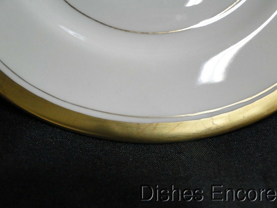 Haviland (New York) Berkeley Cream with Gold: Bread Plate (s) 6 3/8""