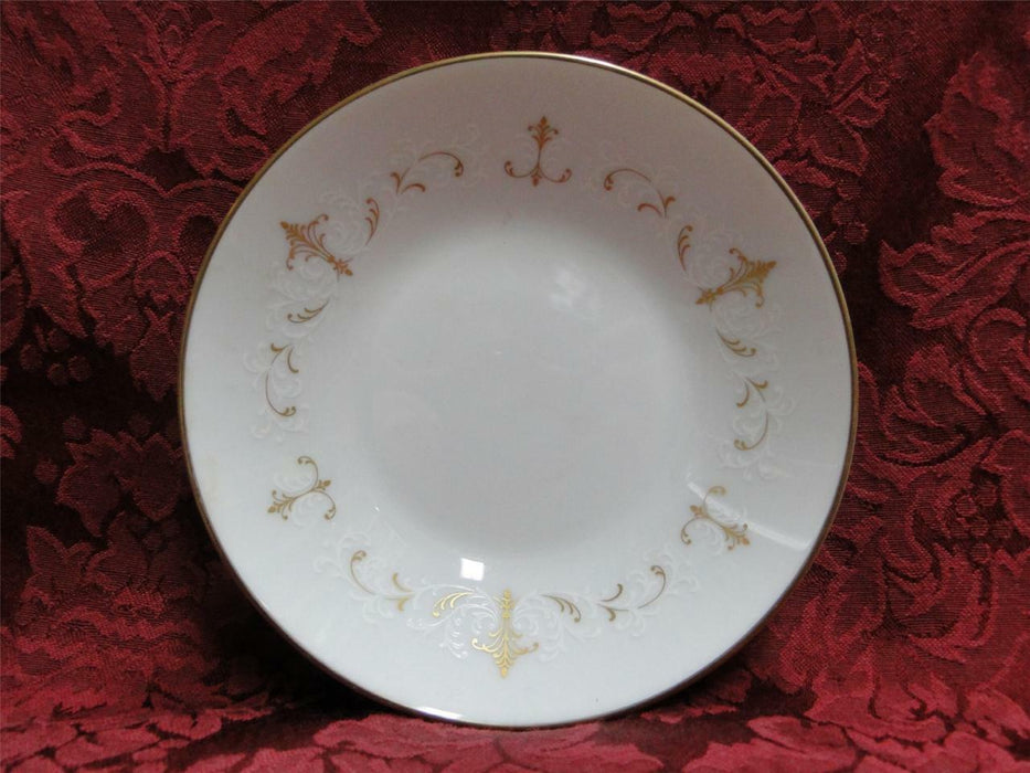 Noritake Courtney, 6520, Gold & White Scrolls: Fruit Bowl (s), 5.5""