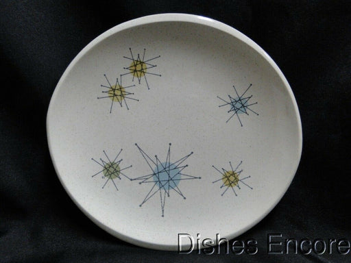 Franciscan Starburst, Aqua, Green, Yellow Star Design: Bread Plate (s) 6 1/2""