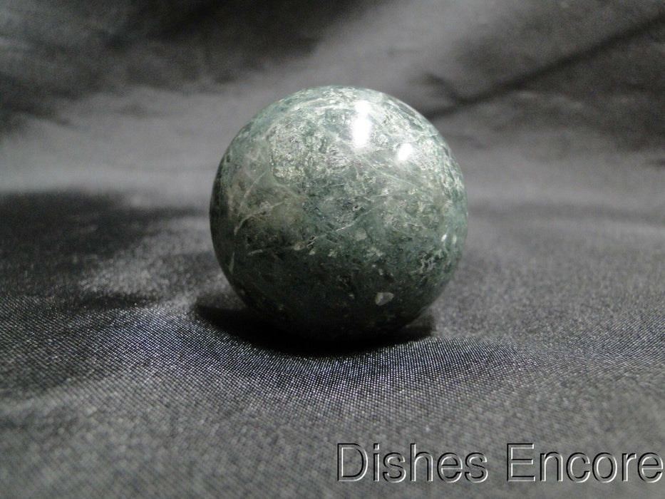 "Wine Bottle Stopper: Dark Green Marble-Like Dome Top, 4 1/8"", New with Box"