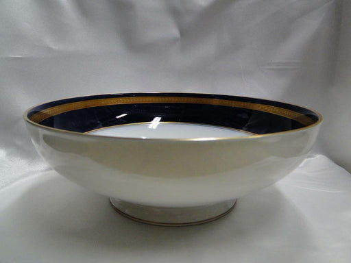 Rosenthal Eminence Cobalt Blue, Gold Laurel: Round Footed Serving Bowl, 9 1/2""