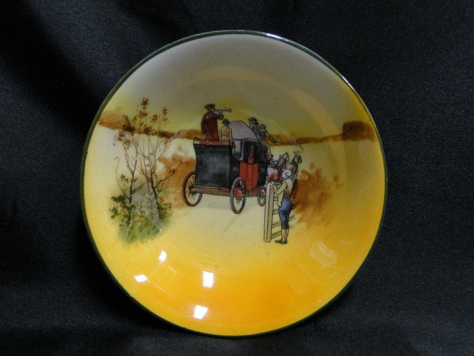 "Royal Doulton Coaching Days, Man Waiting at a Fence: Fruit Bowl, 5 1/2"", 13a"