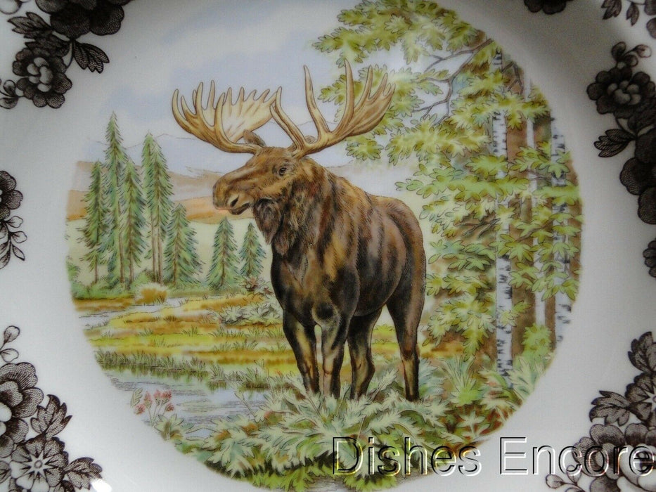 "Spode Woodland Majestic Moose, England: NEW Dinner Plate (s), 10 3/4"", Box"