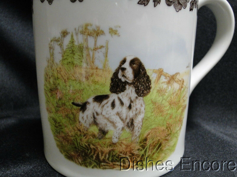 "Spode Woodland English Springer Spaniel Hunting Dog: NEW Mug (s), 4 1/4"", 16 oz"