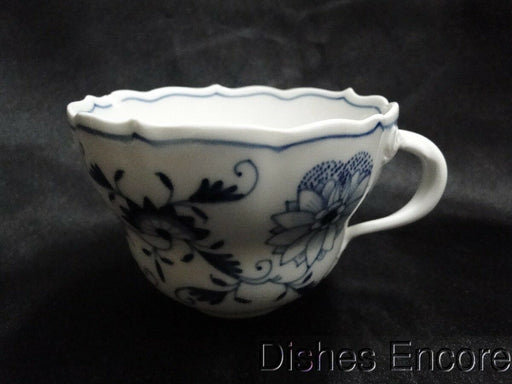 "Meissen Blue Onion, ""X"" Backstamp: Large Cup Only AS IS, Chipped 2 3/4"