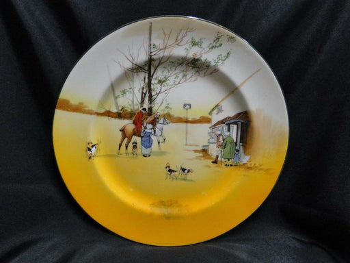 "Royal Doulton Hunting, Giving Tankards: Dinner Plate, 10.25"", Scene 4b, As Is"