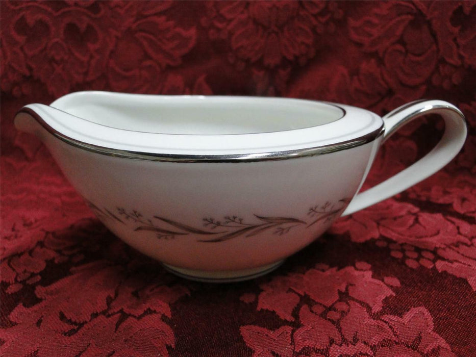 Noritake Almont, 6125, Blue Berries, Gray Leaves: Creamer / Cream Pitcher