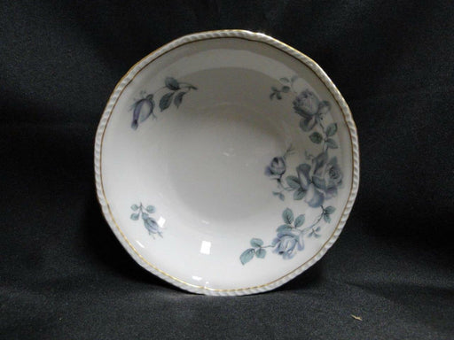 "Royal Tettau Damask Rose, Blue / Green Roses: Fruit Bowl (s), 5 5/8"" x 1 3/8"""