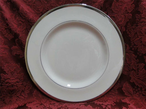 Haviland Shelton Ivory Platinum Encrusted Rim: Dinner Plate (s) 10 5/8""