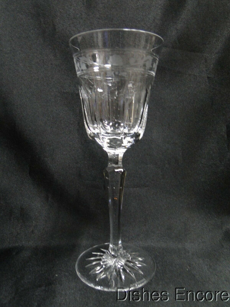 "Wedgwood Monarch, Vertical Cuts, Gray Cut Runnymede: Wine (s), 7 3/4"" - 7 7/8"""
