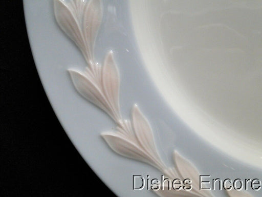 Lenox Cecille, Blue, Pink Laurel on Blue Rim: Dinner Plate (s) 10 1/2""