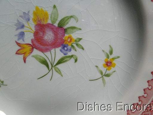 "Adams Lowestoft Calyxware: Bread & Butter Plate (s) 5 7/8"", Crazing"