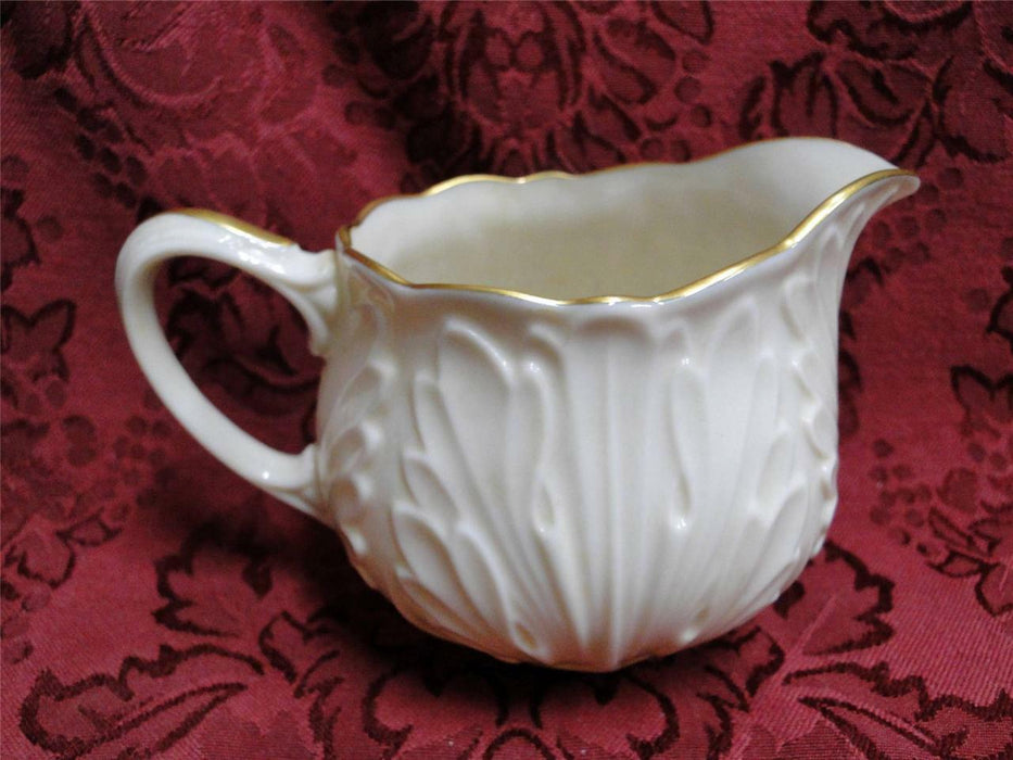 Lenox Cottage Giftware, Embossed with Gold Edge: Cream Pitcher 2 7/8""