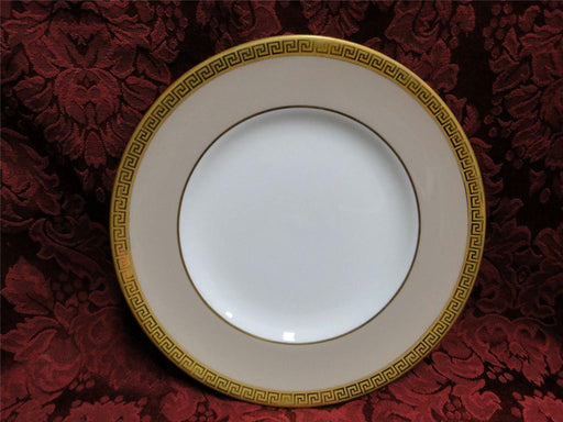Royal Worcester Athena, Beige, Gold Greek Key: Salad Plate (s), 8""