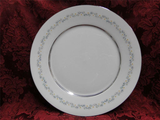 Oxford (Lenox) Holyoke, Daisies, Gray & Blue Leaves: Dinner Plate (s), 10.75""