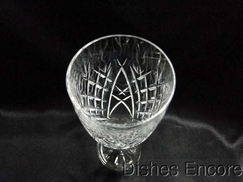 "Waterford Crystal Avoca, Criss Cross Cuts: Champagne Flute (s), 7 3/8"", Cut Base"