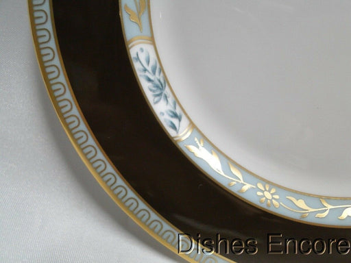 Lenox Palatial Garden, Marchesa, White w/Brown, Blue, Gold: Bread Plate(s) 6 1/4""