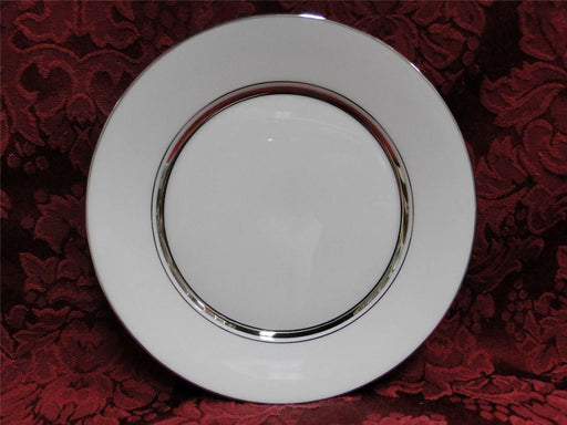 Oxford (Lenox) Lexington, Platinum Rings on White: Bread Plate (s), 6 3/8""