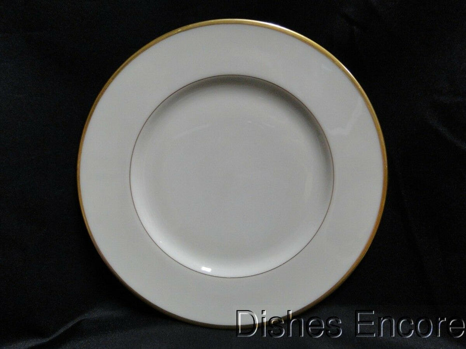 "Lenox Mansfield, Ivory with Gold Trim: Salad Plate (s) 8 1/4"" Worn"