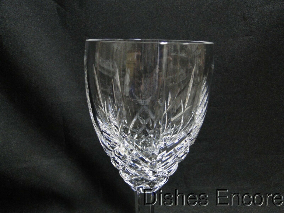Waterford Crystal Araglin, Vertical & Criss Cross Cuts: Water Goblet (s) 7 7/8""
