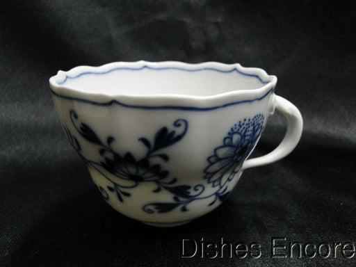 "Meissen Blue Onion, ""X"" Backstamp: Cup (s) Only AS IS, Chipped 2 1/2"""