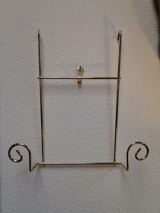 Bard's Expandable Vertical Brass Metal Display Rack: Extension Piece for 1 Plate