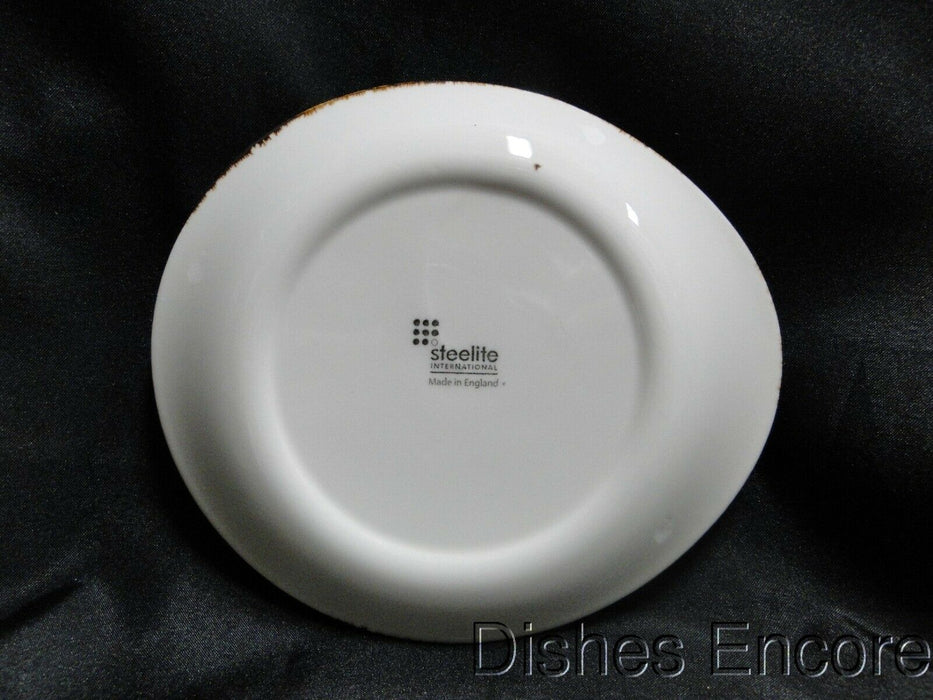 "Steelite Performance Craft, England: NEW White Freestyle Plate (s), 6"" x 5 1/4"""