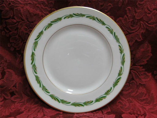Franciscan Arcadia Green, Green/Gold Leaves: Bread Plate (s) 6 1/4""