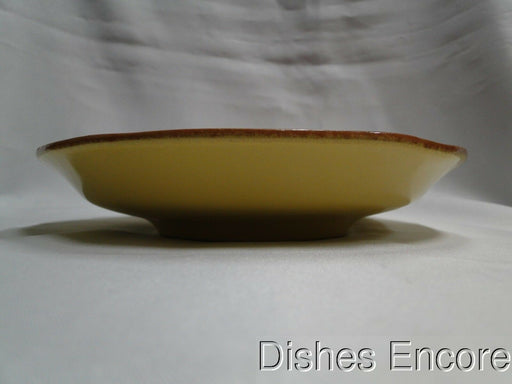 "Vietri Paprika (Italy), Red & Yellow Pottery: Salad Plate (s), 7 5/8"", Reduced"