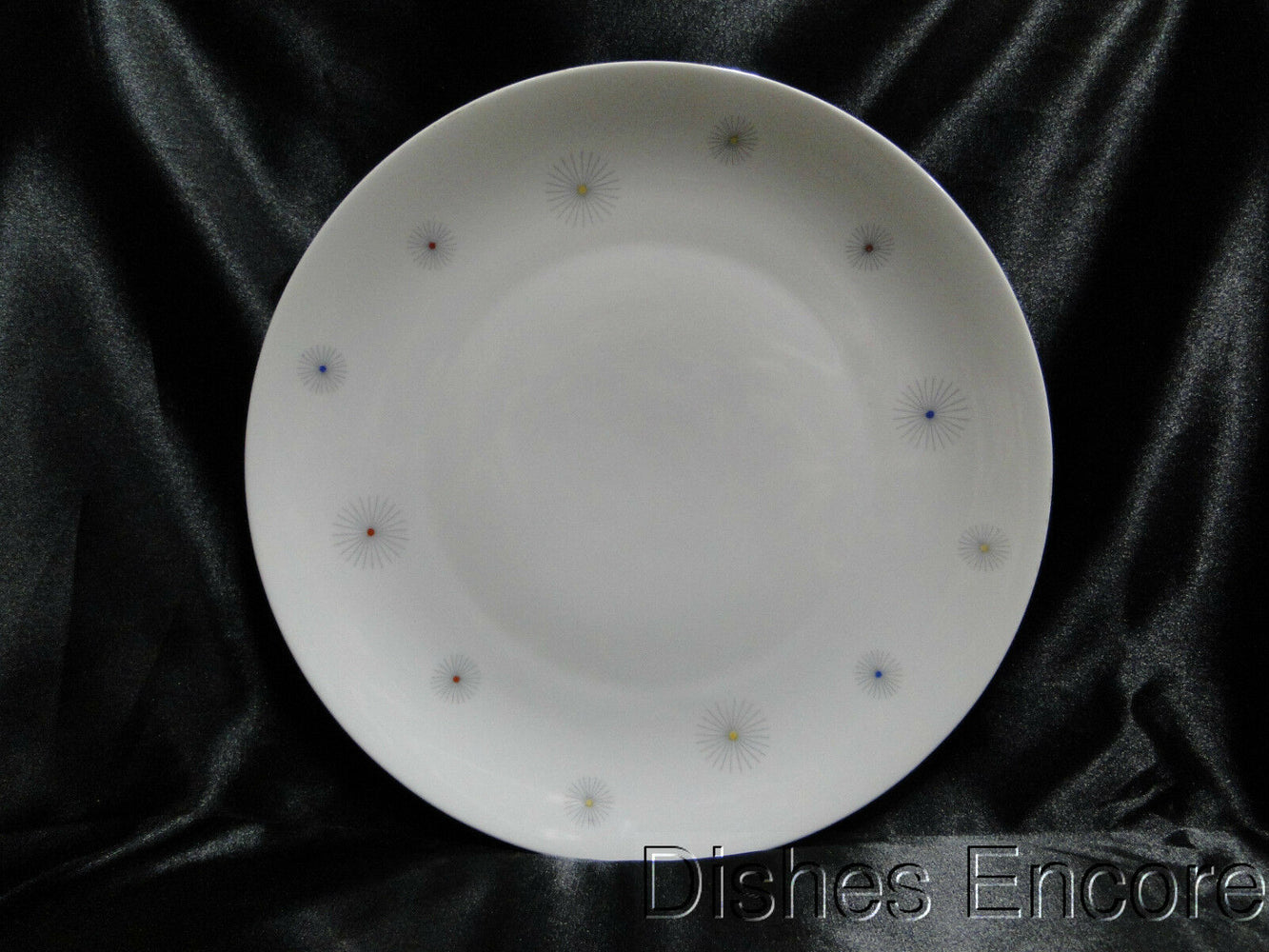 Seltmann 23615, Liane Shape, Multicolor Starbursts: Dinner Plate (s), 10 1/4""