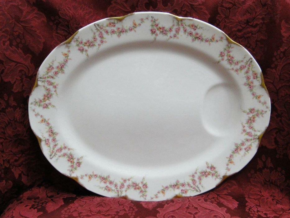 "Haviland (New York) Varenne: Oval Serving Platter 14"" AS IS"