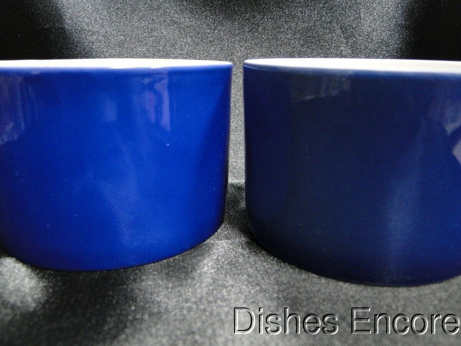 Fitz & Floyd Pin Stripe Blue: Cup & Saucer Set (s), Cup Backstamps Do Not Match