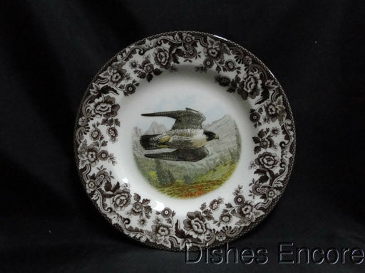 "Spode Woodland Birds of Prey Summer Peregrine Falcon: NEW Salad Plate 7 3/4"" Box"