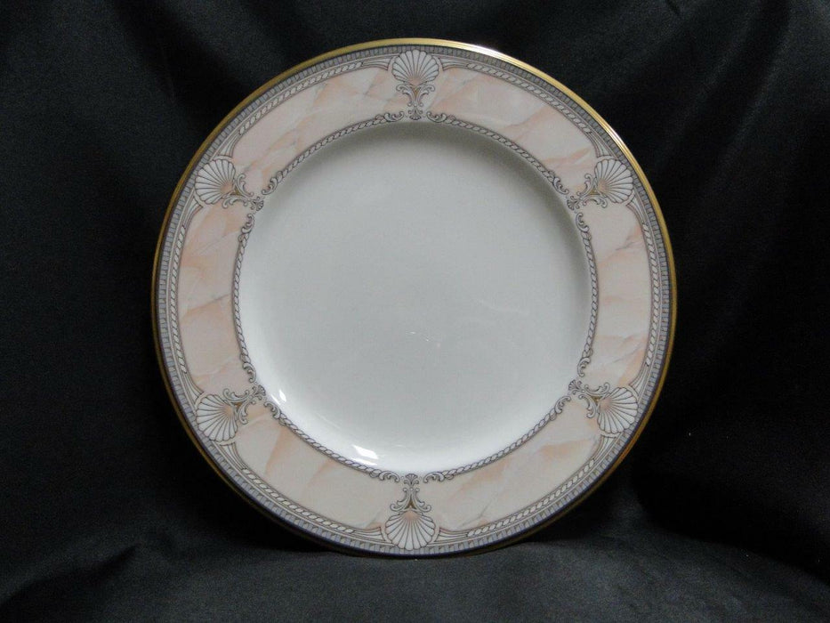 Noritake Pacific Majesty, 9771, White Shells, Pink Rim: Dinner Plate (s), 10.75""