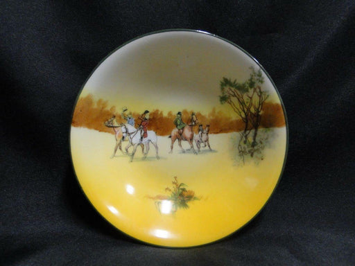 Royal Doulton Hunting, 4 Horses & Riders Tipping Hats: Fruit Bowl 5 3/8 Scene 5a