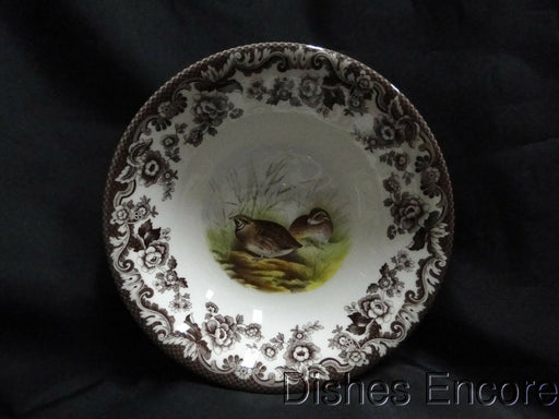 "Spode Woodland Quail Game Bird, England: NEW Ascot Cereal / Soup Bowl 8"", Box"