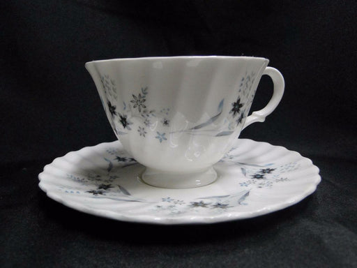 Royal Doulton Millefleur, Gray & Blue Flowers: Cup & Saucer Set (s), 2 5/8""