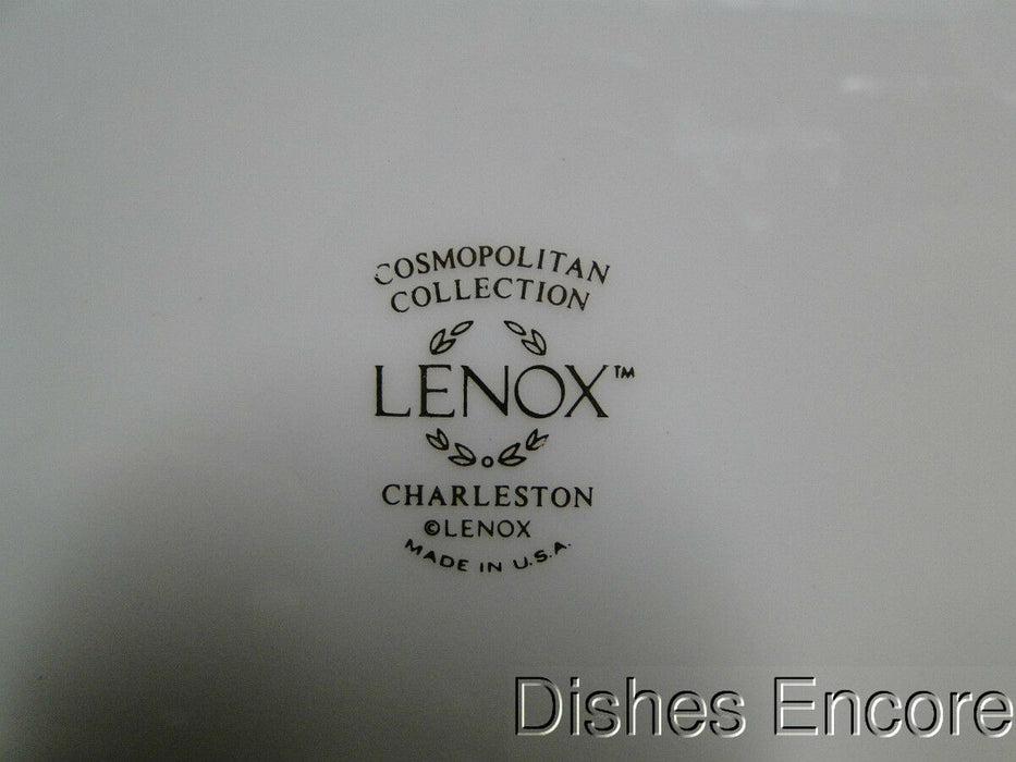 Lenox Charleston Pastel Floral Band, Platinum: Bread Plate (s) 6 1/2""
