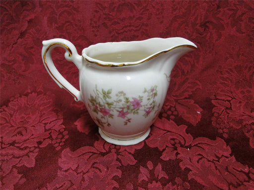 Syracuse Stansbury, Pink Flowers: Creamer / Cream Pitcher, As Is