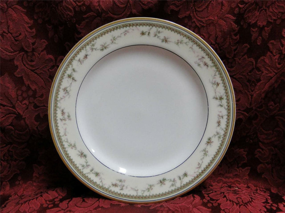 Haviland (Limoges) Yale, Gold and Black Trim: Luncheon Plate 8 3/4""