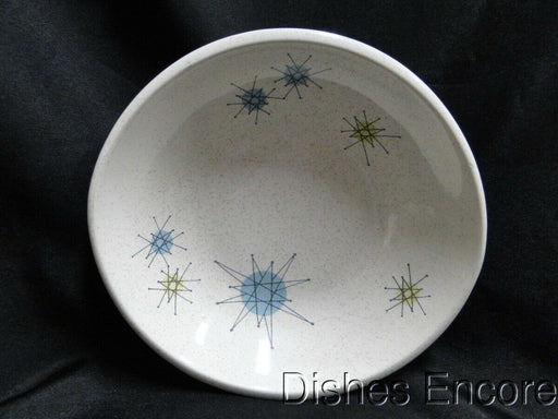Franciscan Starburst, Aqua, Green, Yellow Stars: Coupe Cereal Bowl (s) 7 1/8""
