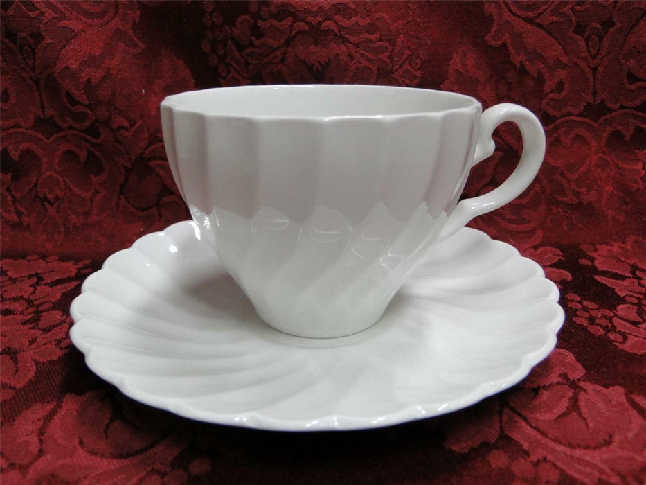 Johnson Brothers Regency, Snowhite: Cup/Saucer Set (s)