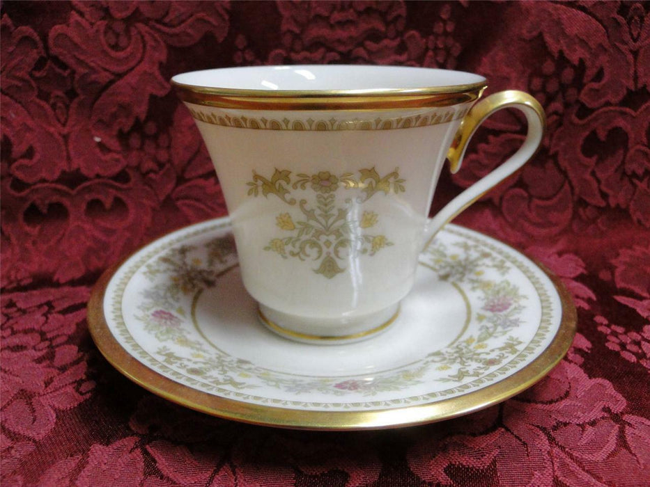 Lenox Castle Garden, Gold Trim: Cup and Saucer Set (s)