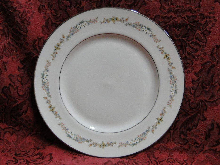 Gorham Rondelle Classic Collection Floral, Platinum Trim: Salad Plate (s)
