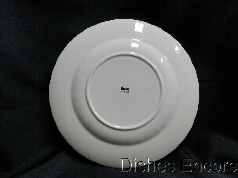 "Spode Jewel, Cream w/ Embossed Circles & Dots: Salad Plate (s), 7 3/4"", As Is"
