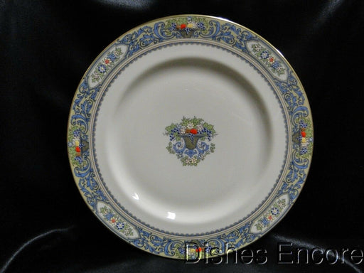 Lenox Autumn, Fruit, Blue Scrolls, Gold Trim: Dinner Plate (s) 10 1/2""
